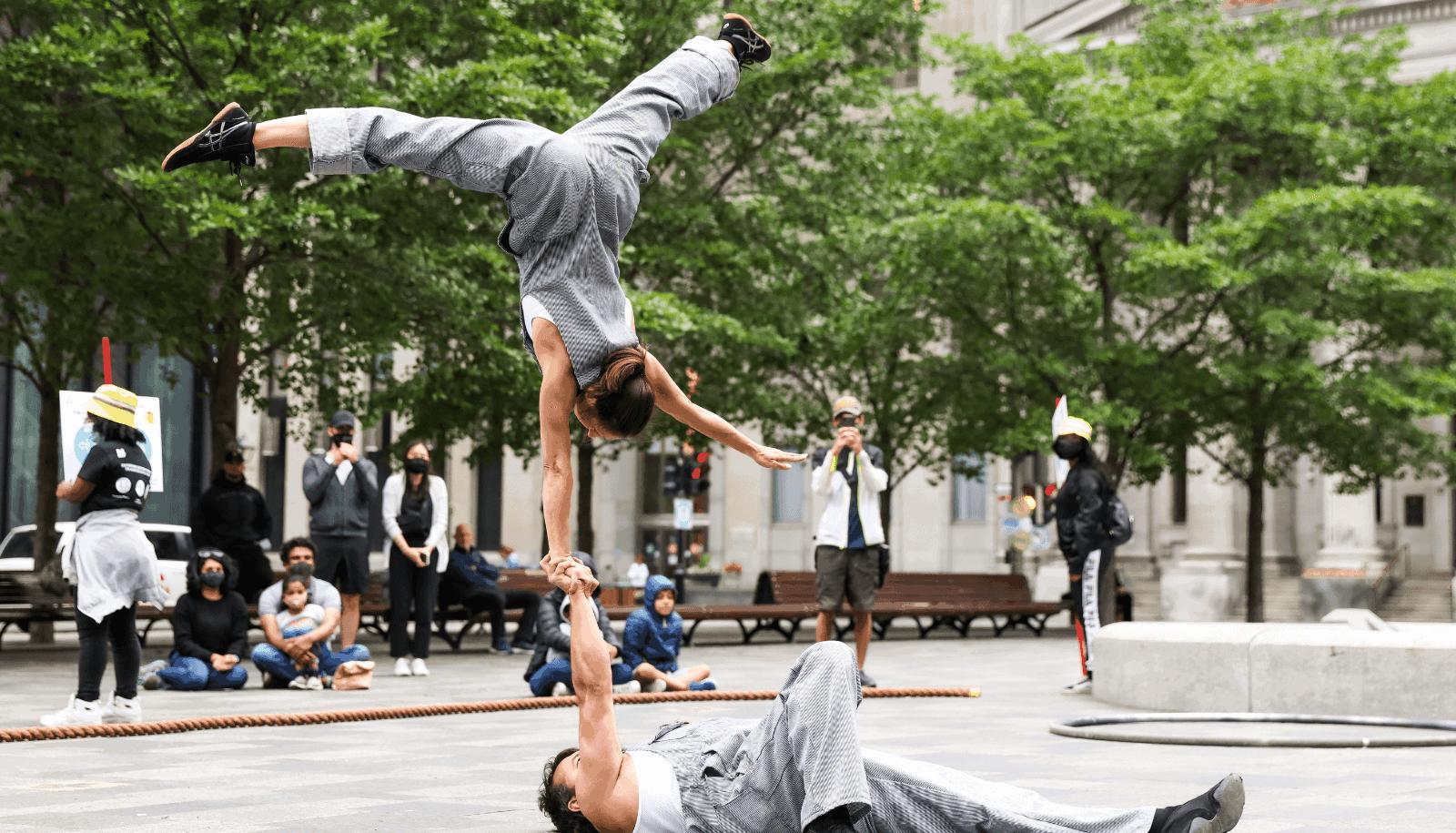 Cirque Alfonse Cirque dans le Vieux TOHU