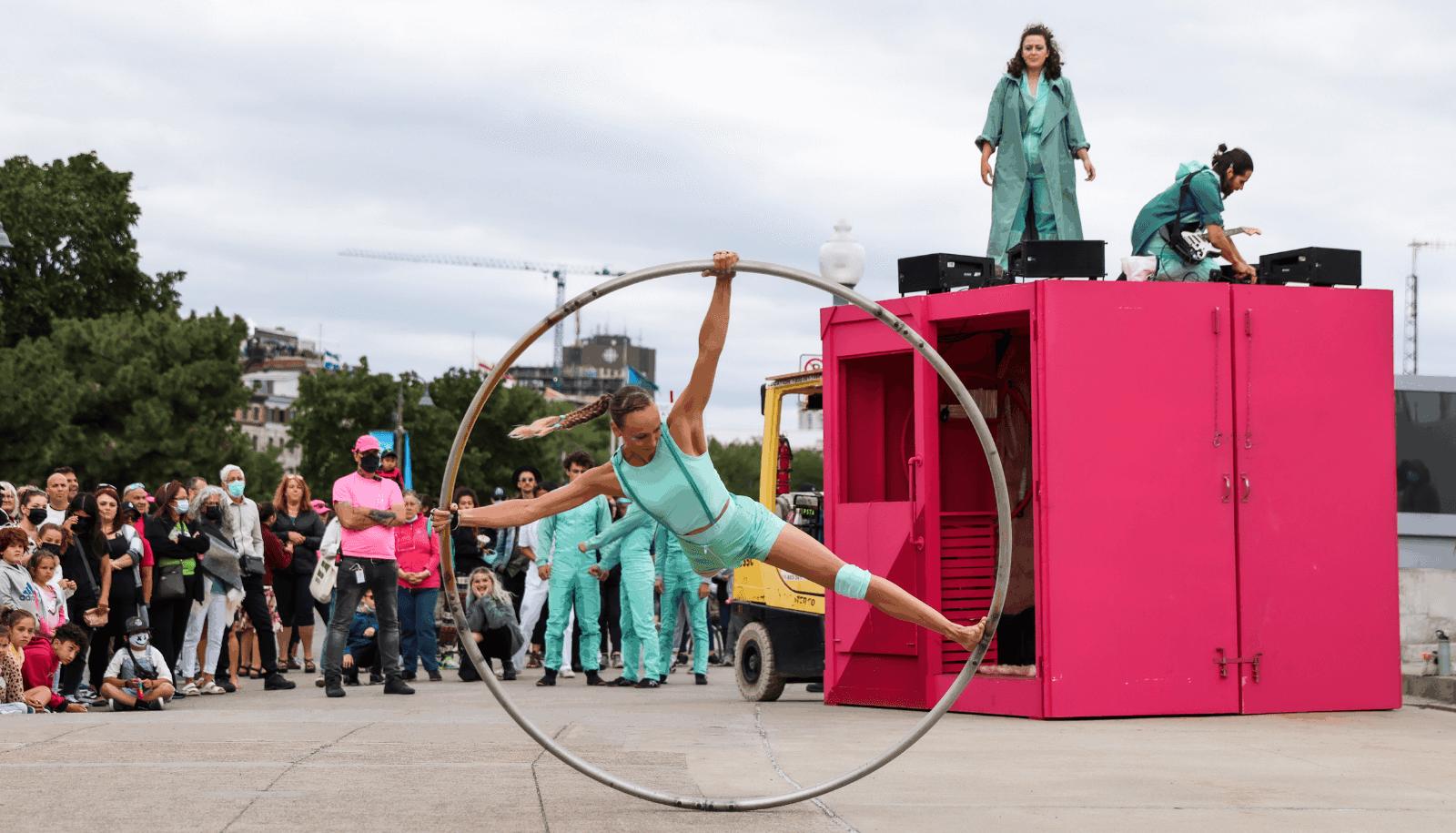 Cirque Eloize dans Vieux Port TOHU