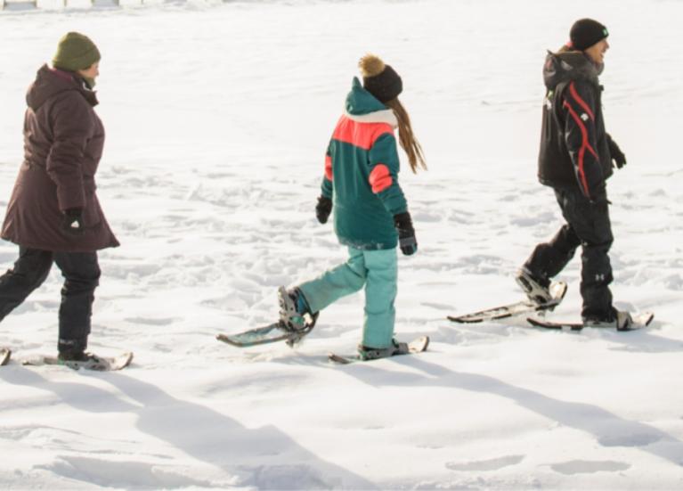 Ski et raquettes TOHU